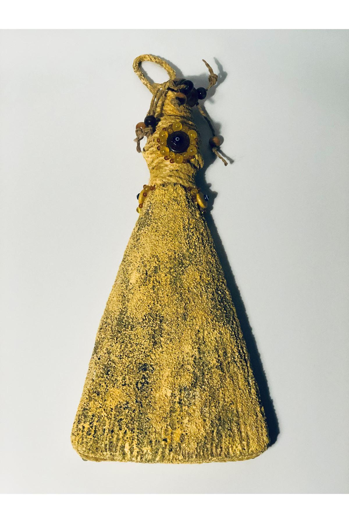 Seramik Süpürge Duvar Aksesuarı Tuval Hedıyelık